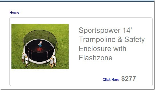 Trampoline parts and supply coupon code