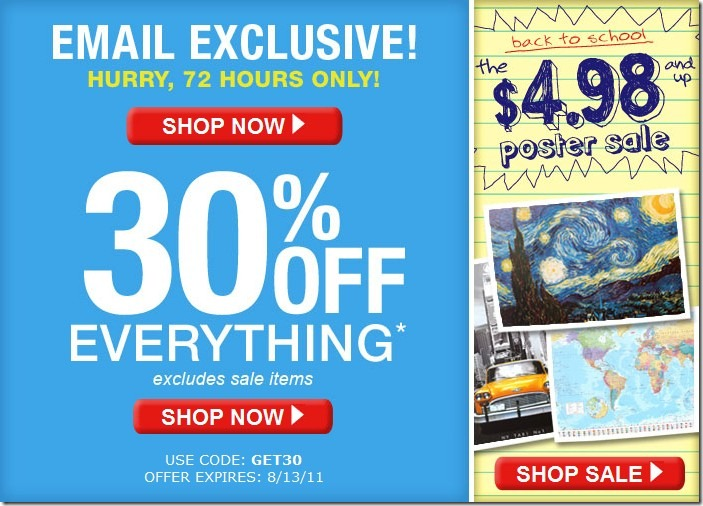 AllPosters has offered affordable posters online since Maximize your discount savings with these exclusive coupon promo codes. You won't find these special discounts elsewhere.