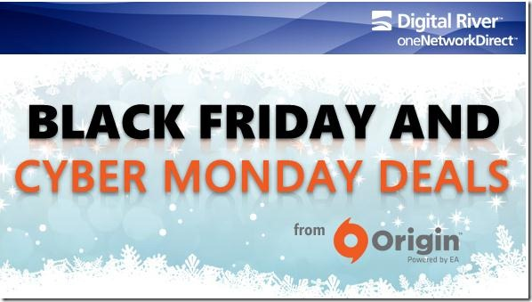 Origin Powered by EA Black Friday and Cyber Monday promo code