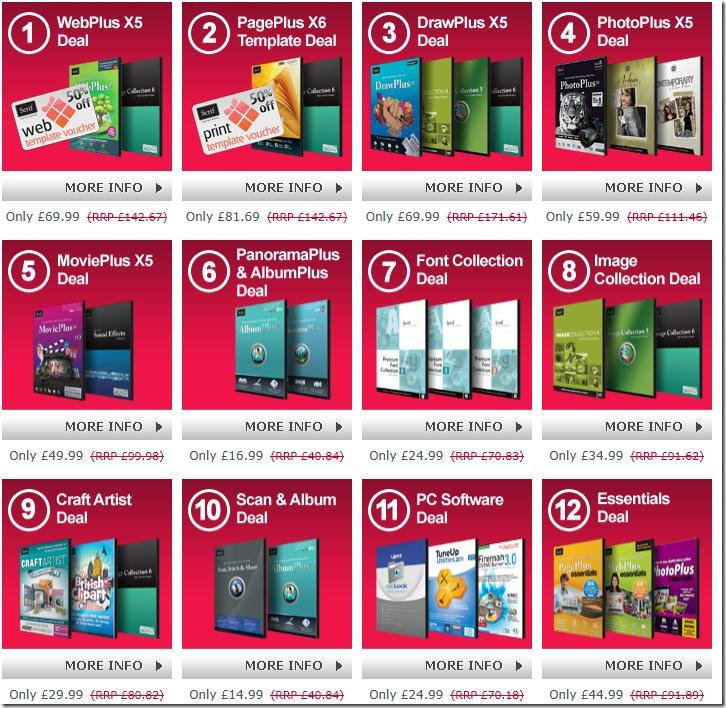 12 deals of Christmas 2011 up to 65% off