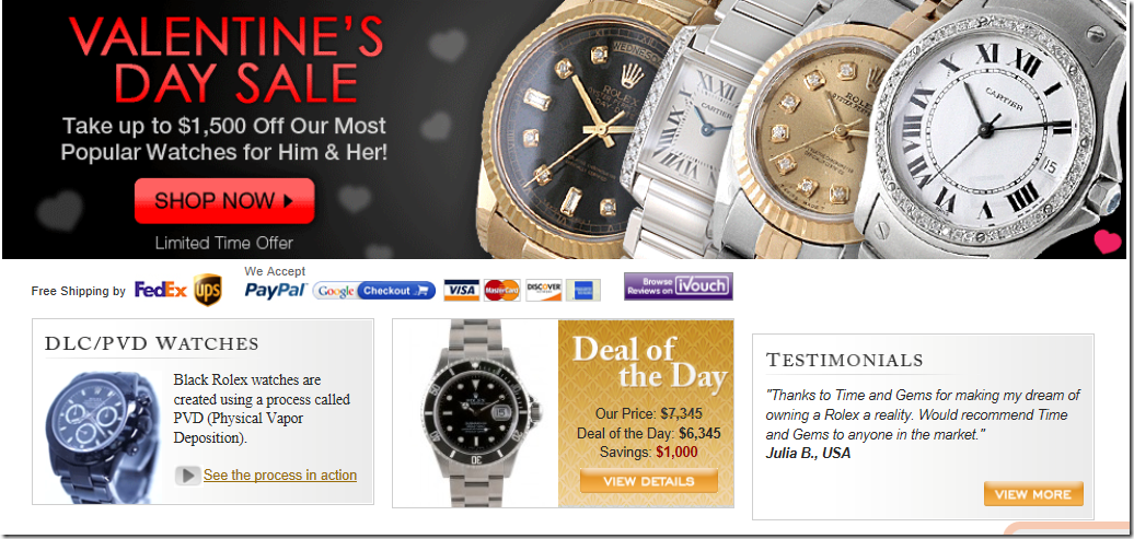 time and gems coupon code February 2012