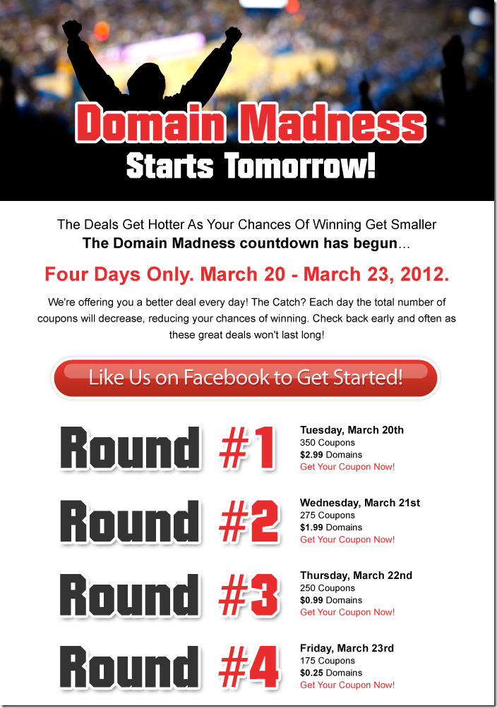 domain.com coupon code domain madness march 2012