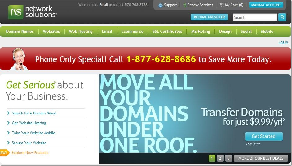 network solutions coupon code 2012 may