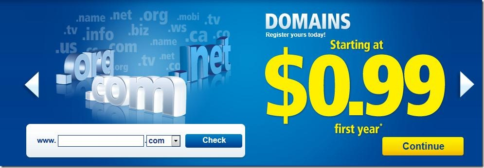 1and1 coupons $0.99 .info domain may 2012