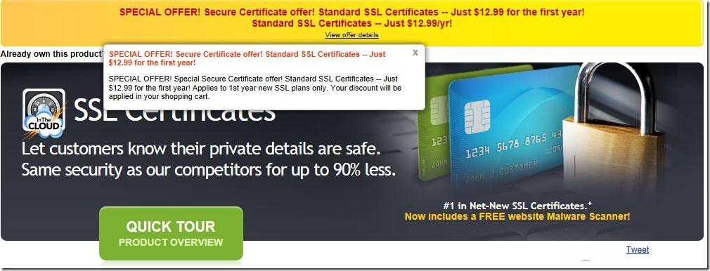godaddy ssl coupon code may 2012