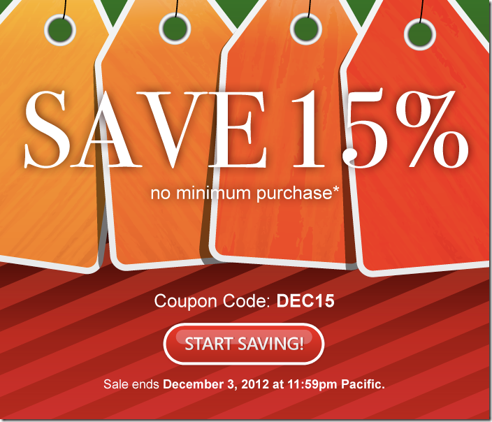 domain.com coupon December 2012 15% off