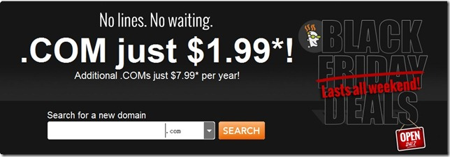 godaddy $1.99 coupon code black Friday 2012