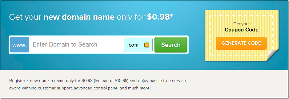 namecheap $.98 domain coupon code march 2013