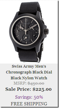 The Watchery Cyber Monday Deals 2013
