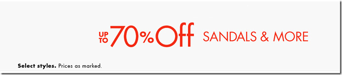 amazon coupon code june 2015 sandals up to 70% off