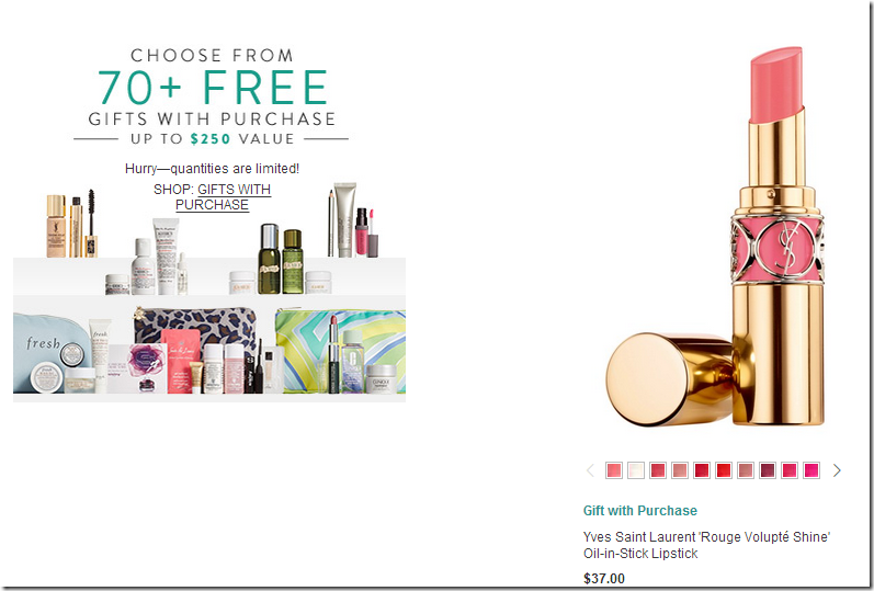 Nordstrom coupon code may 2016 Nordstrom 70+ Beauty Gifts with Purchase From La Mer, Fresh, Bobbi Brown & more